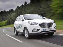 Водородный Hyundai ix35 Fuel Cell проехал всю Скандинавию без дозаправки