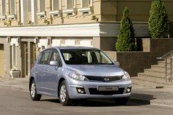 Nissan Tiida покидает российский рынок