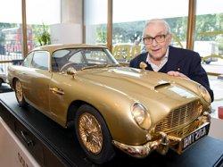 На аукционе продана золотая копия автомобиля Джеймса Бонда