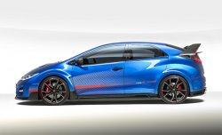 Показана внешность Honda Civic Type R нового поколения