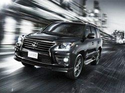 Специально для Кувейта выпущен внедорожник Lexus LX Supercharger