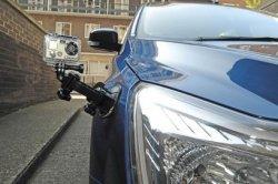 Применение экстрим-камер в автомобильном спорте