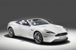 Официально представлен автомобиль Aston Martin DB9 Volante Morning Frost