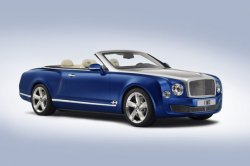 Элитный кабриолет Bentley Grand Convertible представлен официально