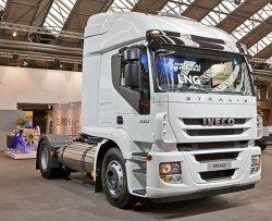 Тягачи Iveco Stralis LNG нашли первых покупателей