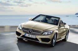Mercedes-Benz C-Class Cabriolet покажут в следующем году