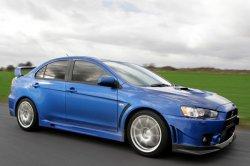 Mitsubishi Lancer Evolution прощается с поклонниками