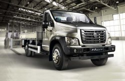 Начались продажи нового грузового автомобиля ГАЗон Next