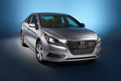 Представлен гибридный автомобиль Hyundai Sonata