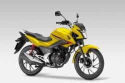 Представлен обновленный мотоцикл Honda CB125F