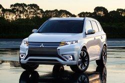 Обновленный Mitsubishi Outlander будет представлен в апреле