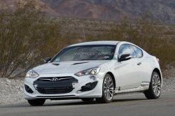 Hyundai выводит на тесты Genesis Coupe нового поколения