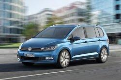 В Женеве был показан автомобиль Volkswagen Touran нового поколения