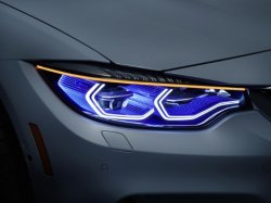 Компания BMW модернизировала лазерные фары