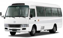 Автобус Toyota Coaster прошел плановое обновление