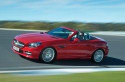 Автомобиль Mercedes-Benz SLK оснастили новыми силовыми агрегатами