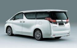 Увеличилась российская стоимость автомобиля Toyota Alphard