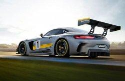 Началось тестирование автомобиля Mercedes-Benz AMG GT