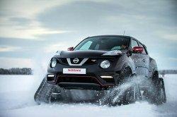 Что представляет собой гусеничный Nissan Juke?