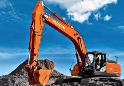 Производители показали новый экскаватор Hitachi ZX300LC-6