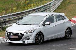 Заряженный автомобиль Hyundai i30 вышел на тесты