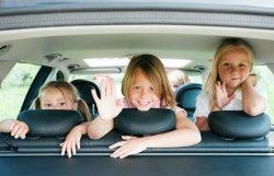 Дети в машине – легко и безопасно