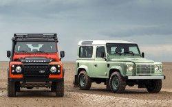 Через месяц в России появятся две прощальные версии Land Rover Defender
