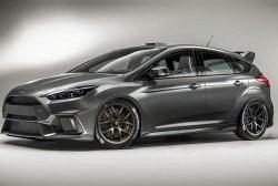 Обновленный Ford Focus RS станет быстрее и легче предшественника