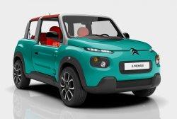 Автомобилестроители рассказали о кроссовере Citroen E-Mehari
