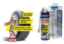 Michelin выпускает клей для экстренного ремонта покрышек