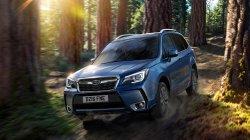 Дизайн автомобиля Subaru Forester подвергся изменениям