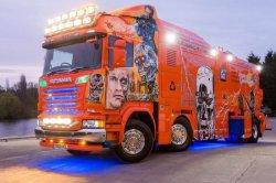 Scania выпустила особую вакуумную цистерну под названием Terminator